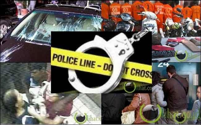 5 Modus Kejahatan yang paling sering di Lakukan di Indonesia