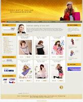 template toko online