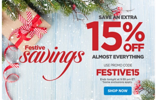 The Shopping Channel Flash Sale Festival Savings 15% Off Promo Code
