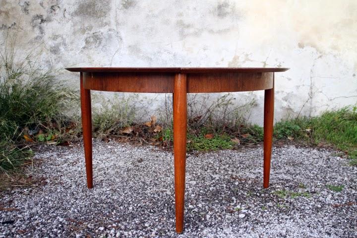 Chicbaazar Objets Vintage 50 60 70 Table Palissandre De