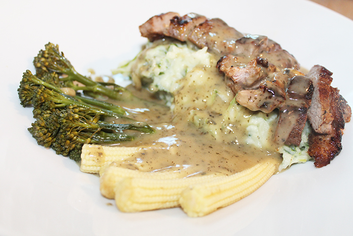 Mustard Lamb and Irish Mash Recipe