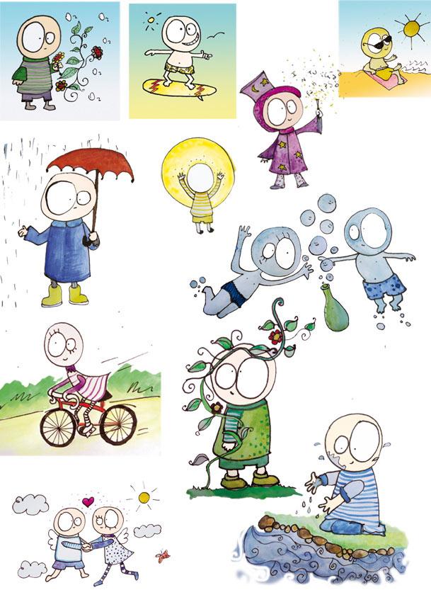 ilustraciones infantiles para libro de poesia haiku poesia japonesa