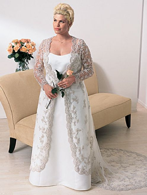 Vestidos de boda para personas mayores