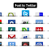 Cool Shareaholic Social Sharing Widget With Tooltips And Count For Blogger