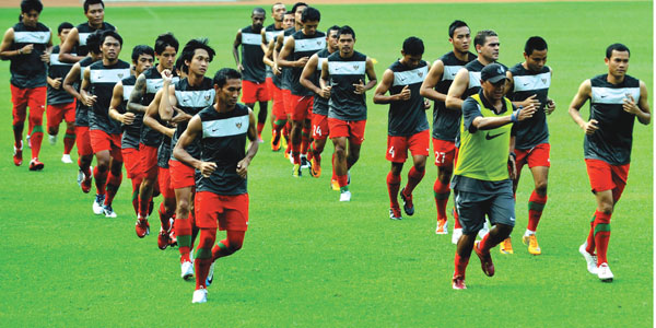 Daftar Skuad Timnas vs ARAB SAUDI 2013 (Pra Piala Asia 2015)