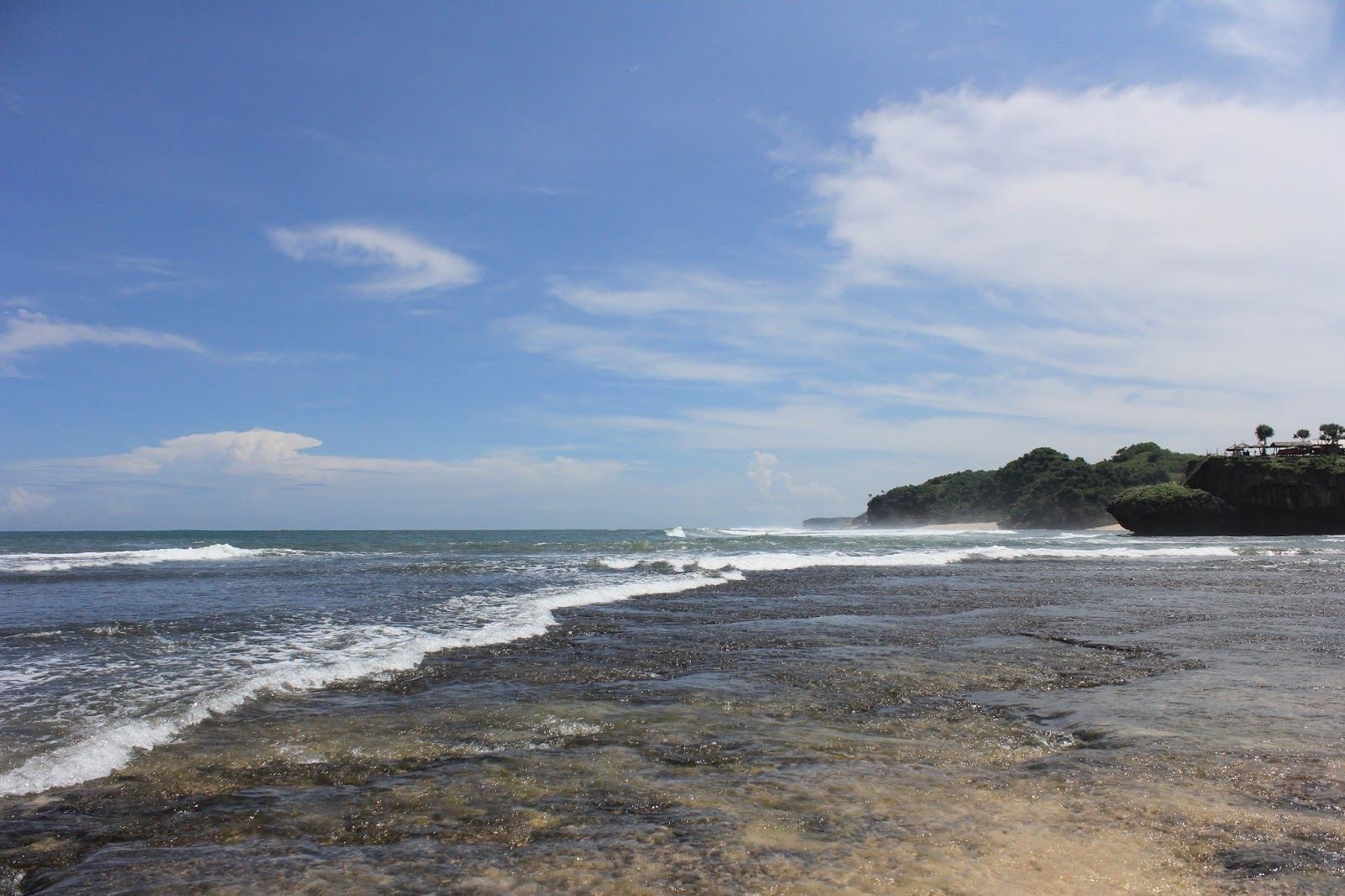 beautiful beach jogjakarta