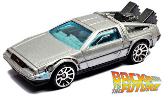 Back To The Future Time Machine from Hot Wheels
