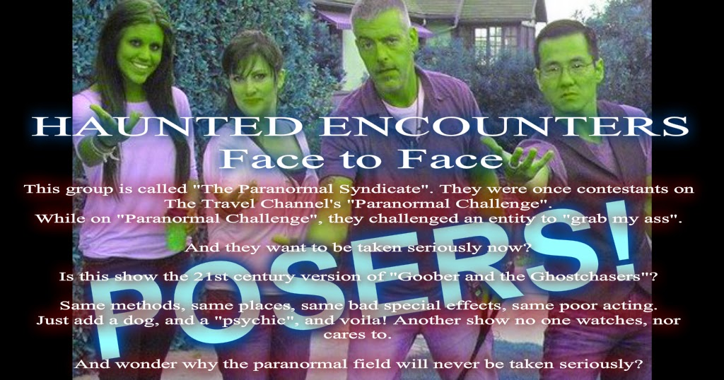Haunted Encounters: Face to Face - Season 1 Episode 4 ''Eastern State Penitentiary''