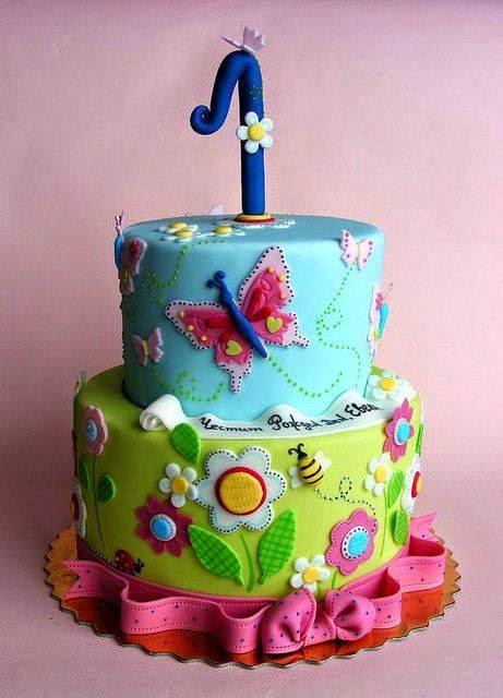Kek Hari Lahir untuk Setahun Usia Si Puteri