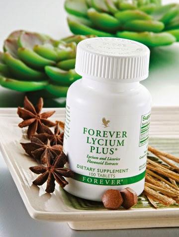 Thực phẩm chức năng Forever Lycium Plus cam thảo, kỳ tử