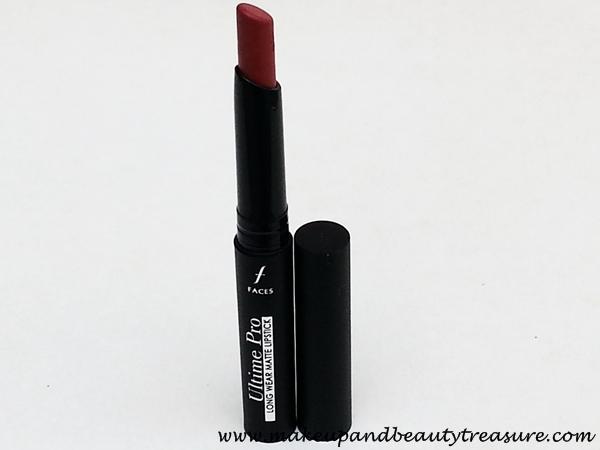 Faces Canada Ultime Pro Long Wear Matte Lipstick