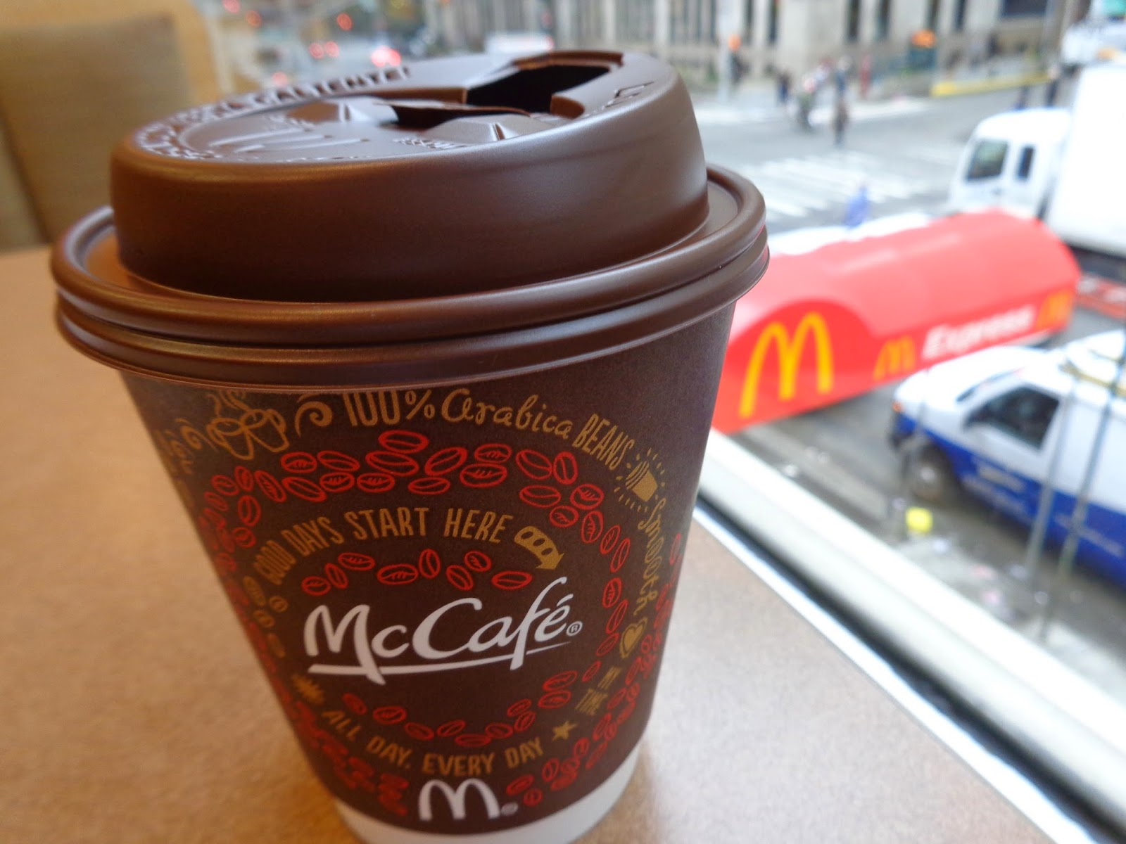 starbucks vs mcdonalds the breakfast wars Mcdonald's is stealing share from all the other players — starbucks, second cup and coffee time, as well as tim hortons, said robert carter, executive director at npd.