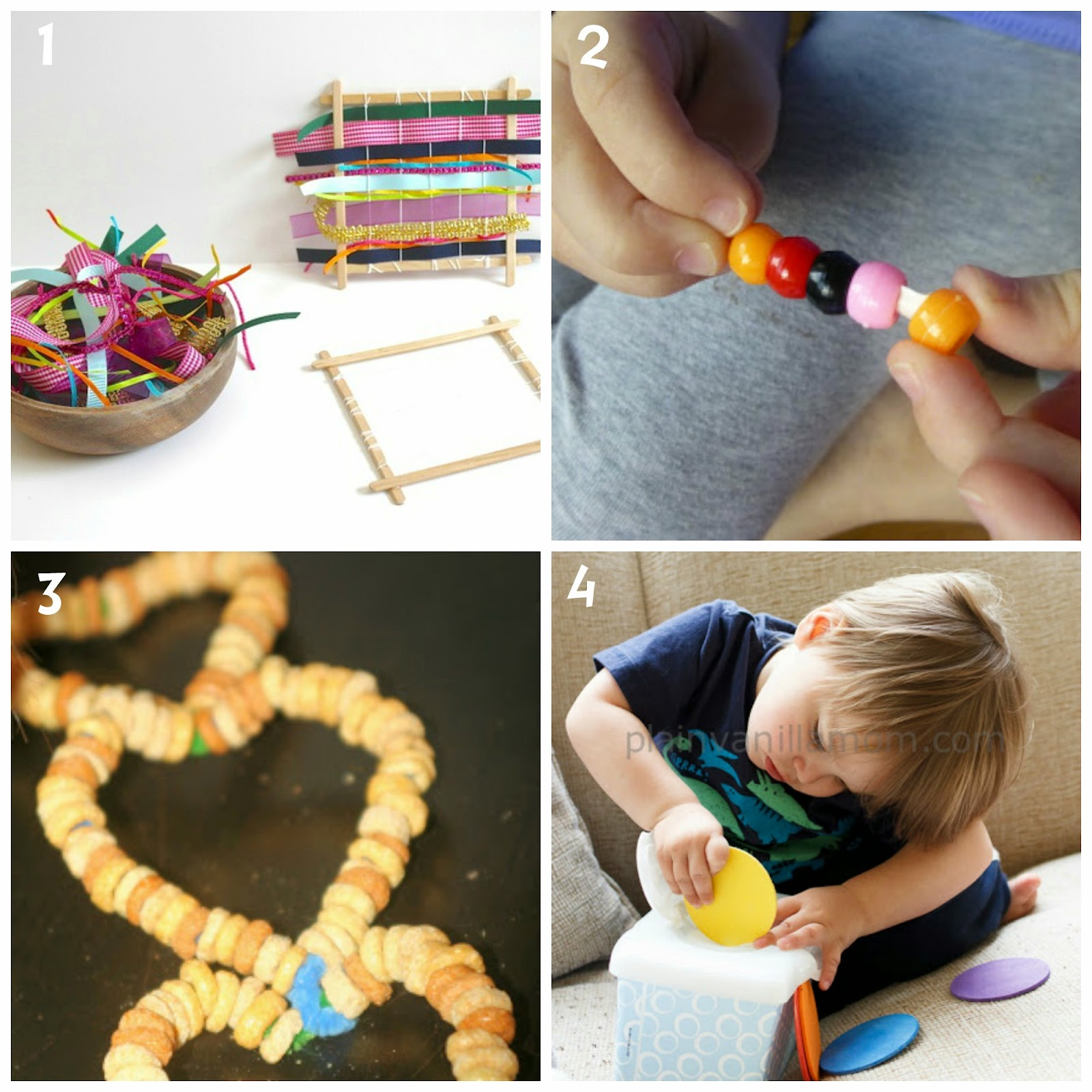 Learn with play at home fine motor activities for kids for Motor skills for toddlers