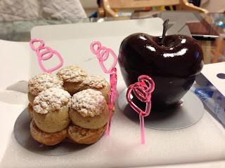 京都祇園にあるフランス(パリ)の有名パティシエのお店ラ・パティスリー・デ・レーヴ(La patisserie des reves)のケーキ1