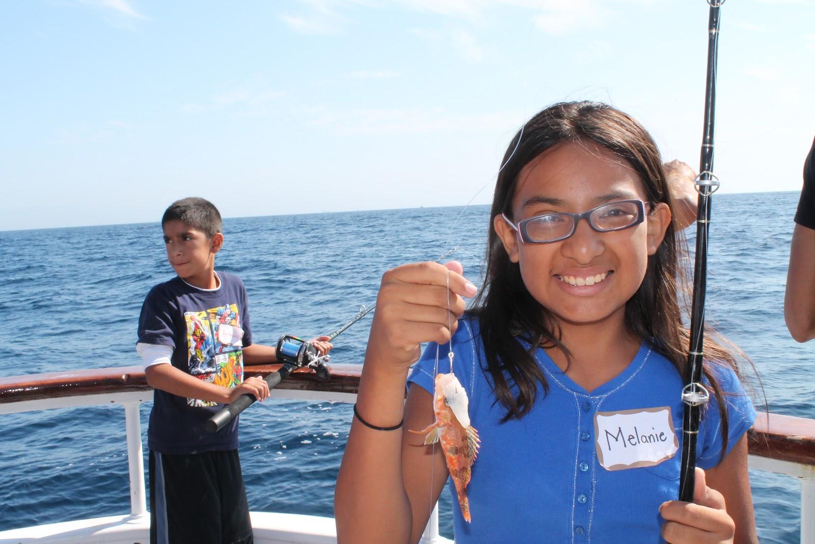 Dan 39 S Journal 85 Kids Go Ocean Fishing For The Very First
