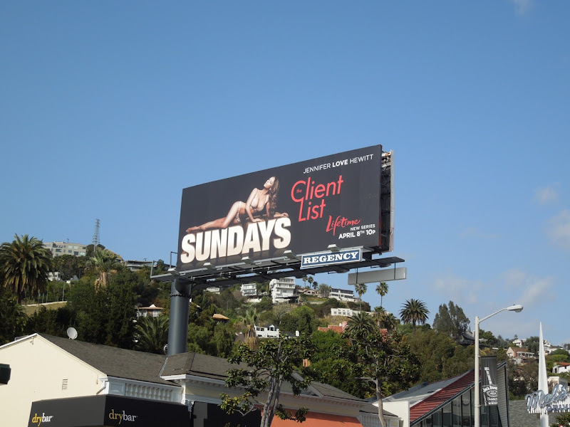 The Client List TV billboard