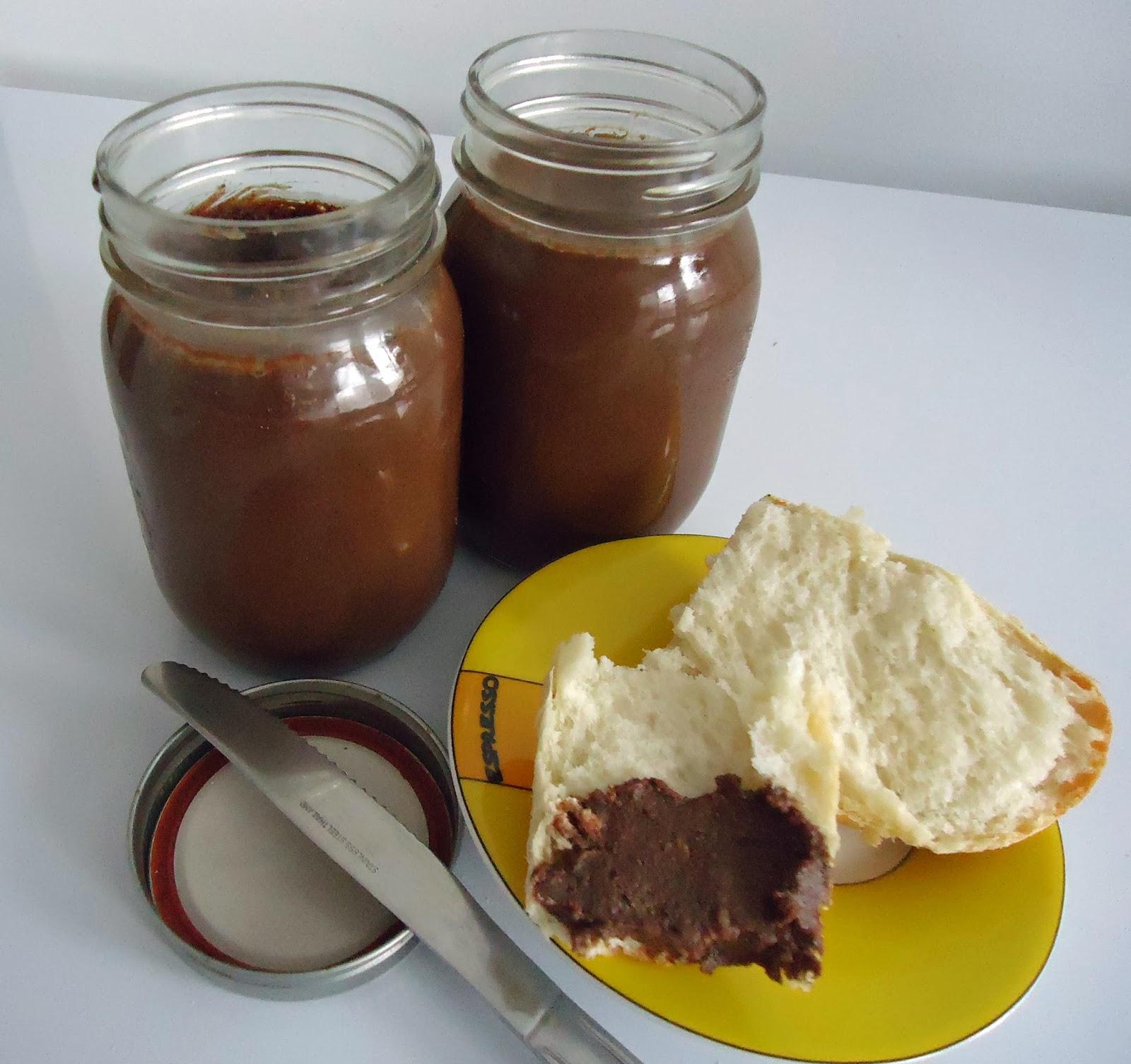 P te tartiner aux amandes et noisettes nutella maison - Nutella maison cuisine futee ...