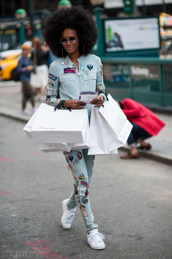 Afro jumpsuit beautiful