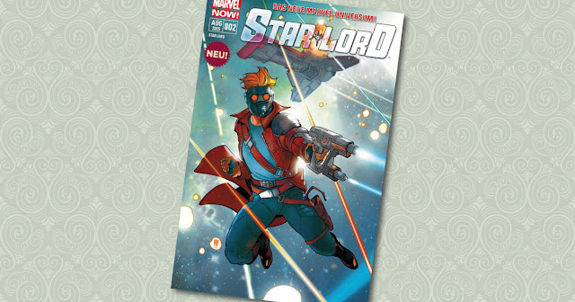 Star Lord 2 Panini Cover