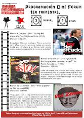 Cine forum IZAR primer trimestre. Proyección en el Pub Entresuelo
