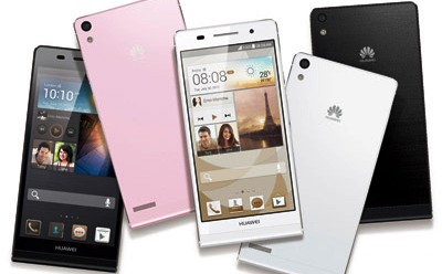 World's Thinnest Huawei Smartphone Nearby