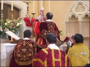 Lugares de celebracion de la Sagrada Misa Tridentina