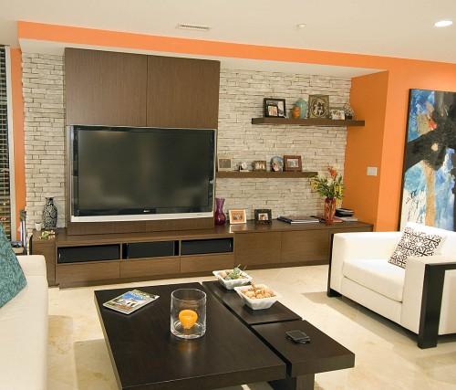 Estúdio Via Interiores Painéis decoram e são destaques nos