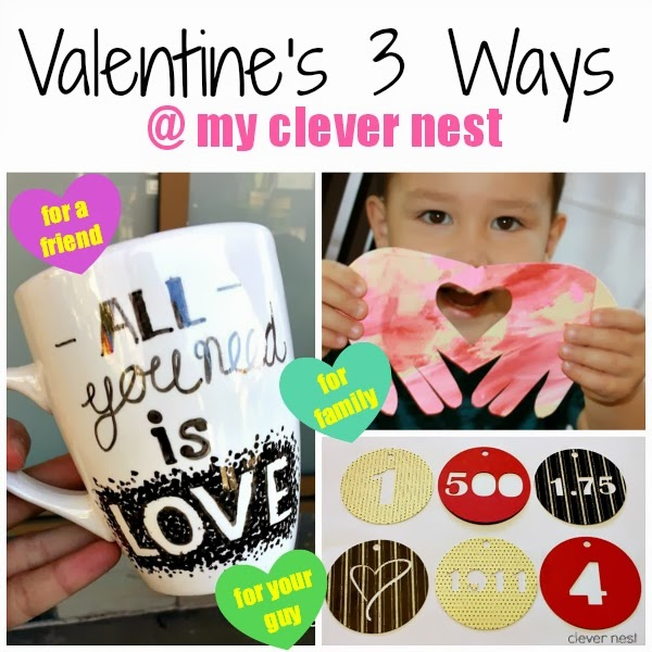 Valentine's gift ideas for a guy, for preschoolers, for a gal pal! #clevernest