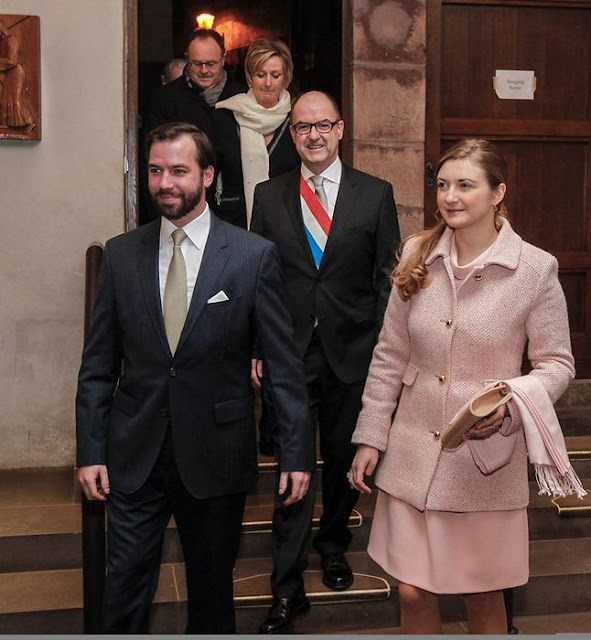 Prince Guillaume and Princess Stéphanie