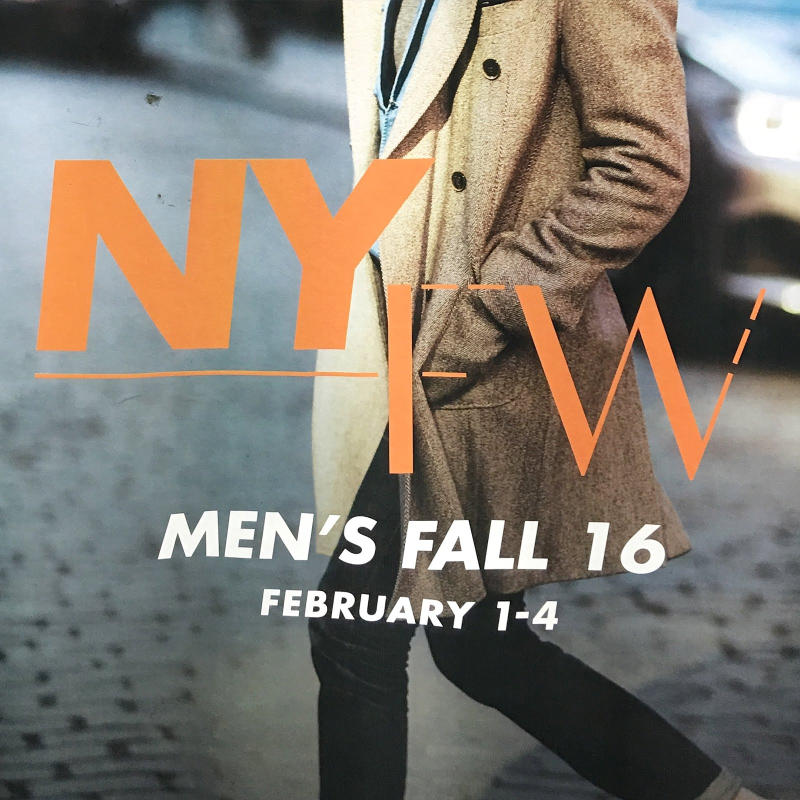 NY COLLECTIONS: MEN
