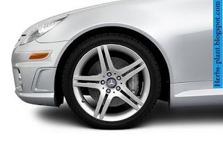 Mercedes slk 2010 tyres/wheel - صور اطارات مرسيدس slk 2010