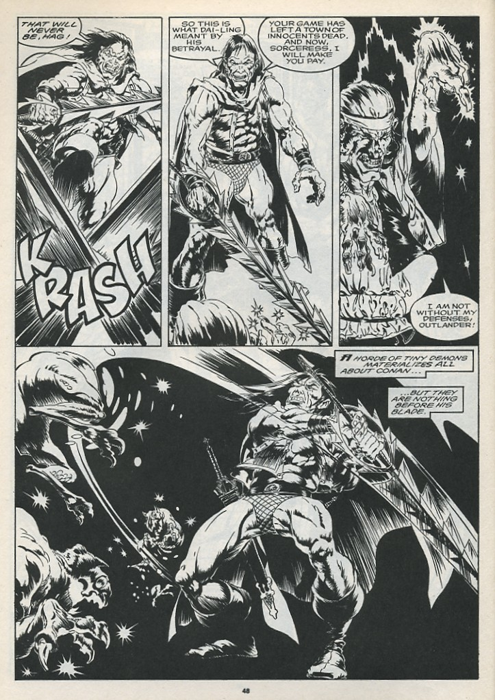 The Savage Sword Of Conan Issue #175 #176 - English 50