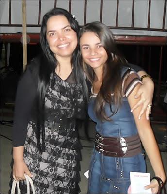 Eliane Silva e Francielle Miranda