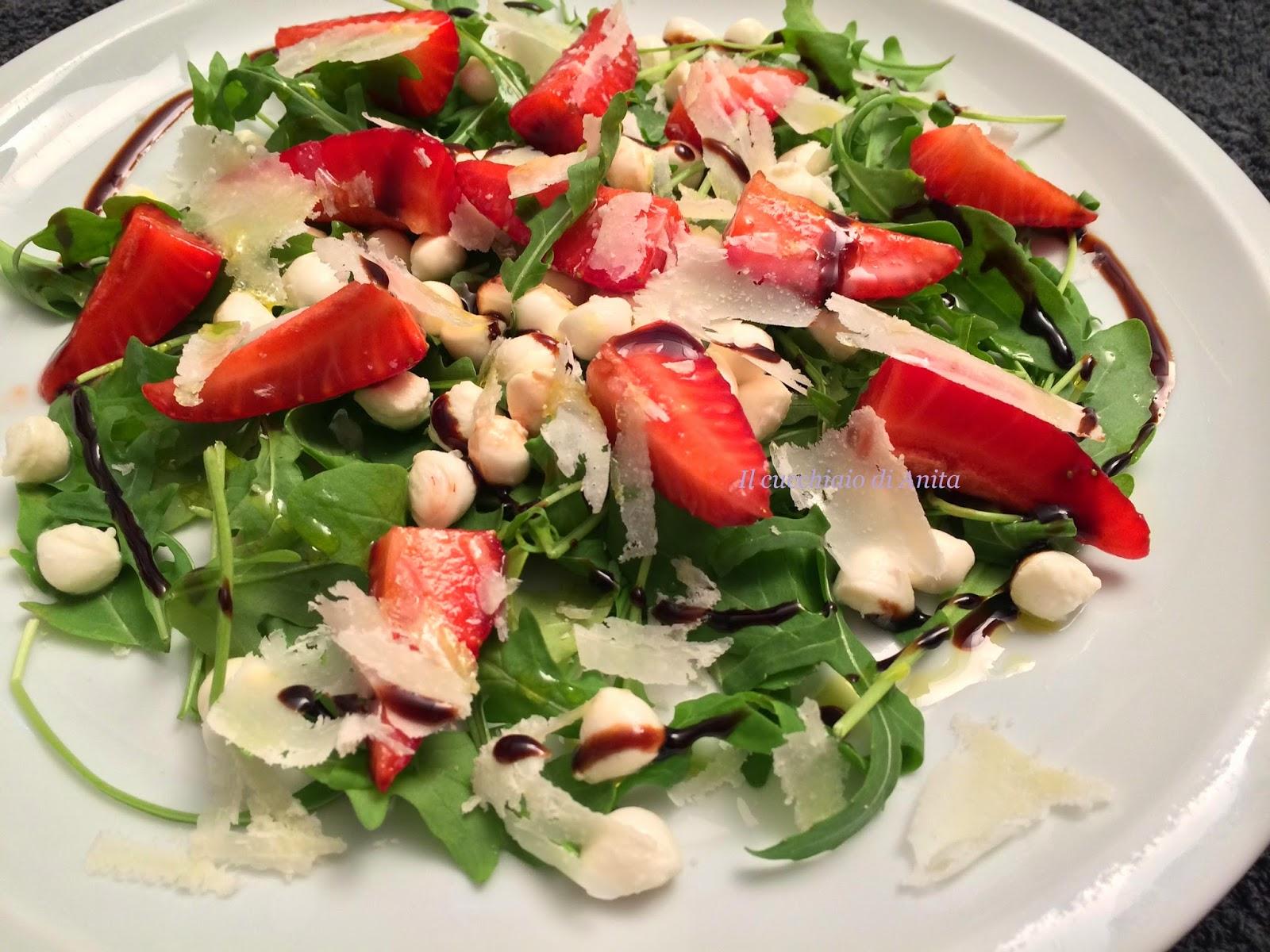 insalata di fragole al balsamico