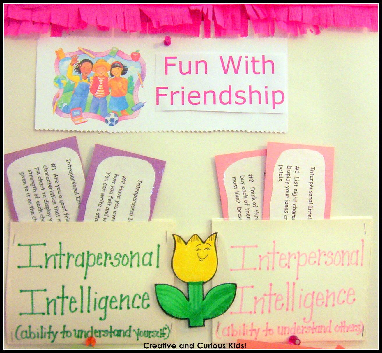 Creative and curious kids create a multiple intelligences center create a multiple intelligences center nvjuhfo Choice Image