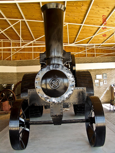 ''Martin Luther'' steam engine in Swakopmund, Namibia