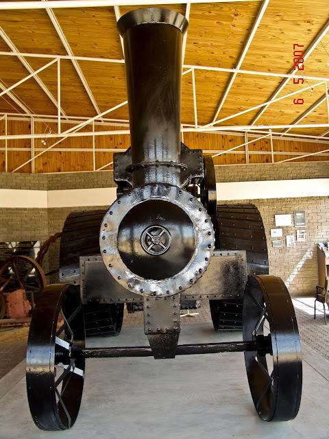 ''Martin Luther'' steam engine in Swakopmund, Namibia