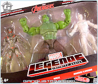Target exclusive Marvel Legends Avengers Vision Hulk Ultron Hasbro