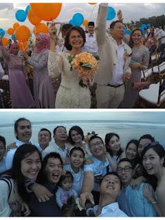 selfie suka cita Ringgo Agus Rahman saat menikahi Sabai Morscheck