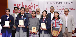 "Hindustan Zinc awards 27 students with ""Khushi"" Child Care Awards"