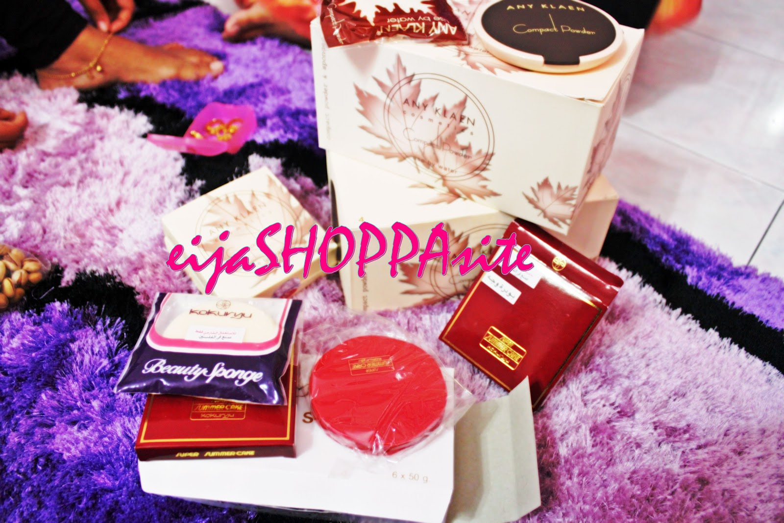 Roziyaniza ShopSITE ANY KLAEN COMPACT POWDER FROM SYRIA