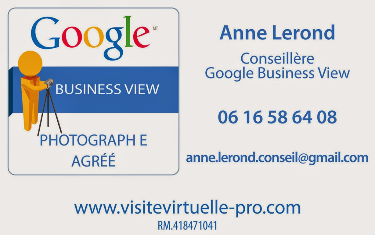 Conseillère Google Business View