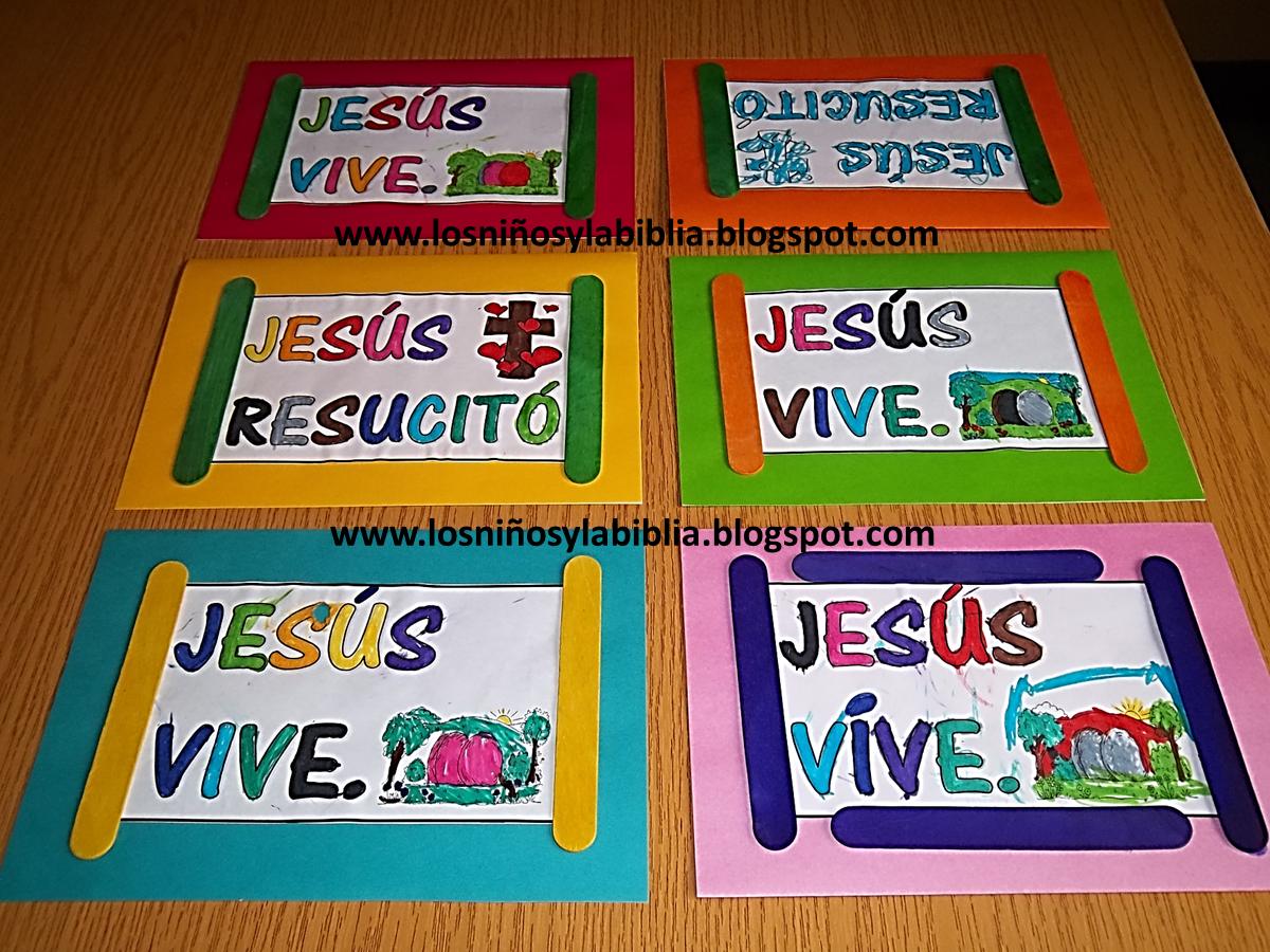 Manualidades Para Ninos De La Biblia