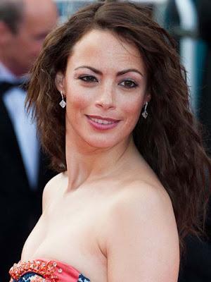 Berenice Bejo Dangling Diamond Earrings
