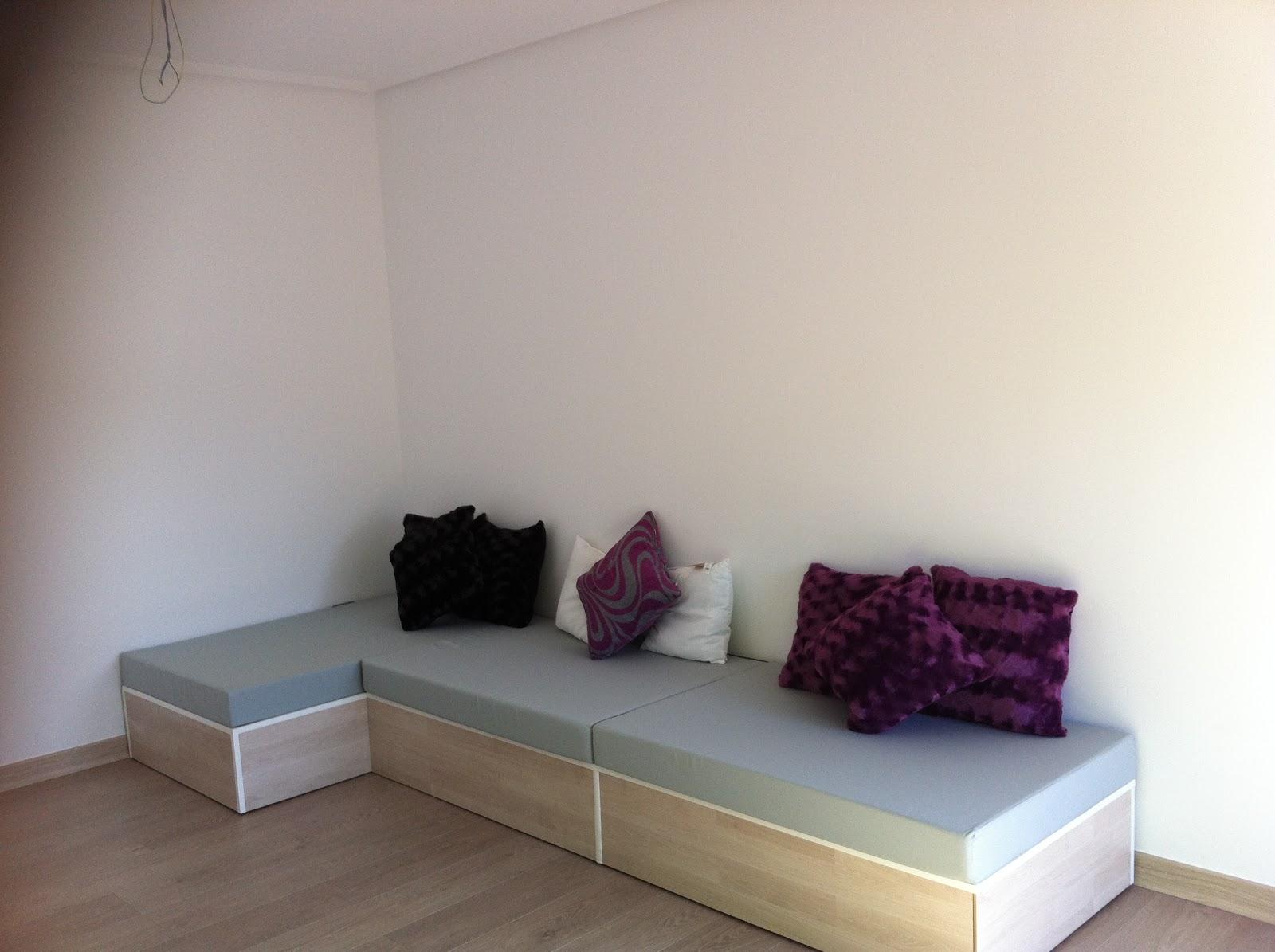 Las manualidades de t lna sofa de palet - Como hacer un sofa con palets ...