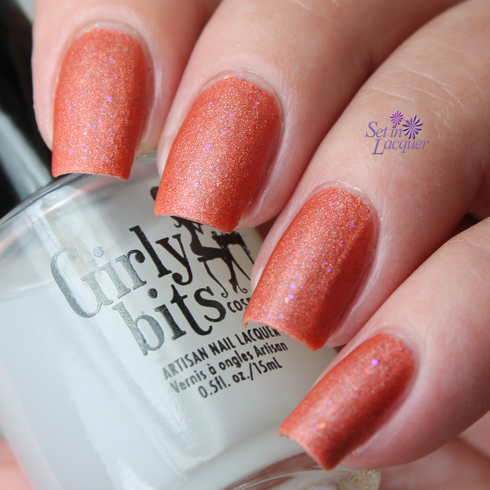 Girly Bits - Polish Matte'rs over Let's Do This