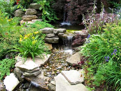 Canada floral delivery blog the basics of natural rock for Garden design ideas canada