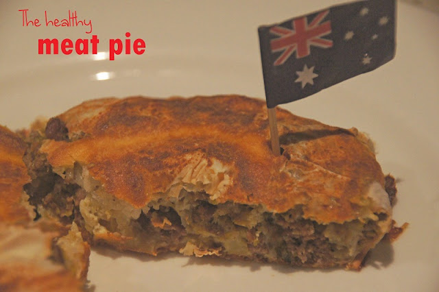 DSC09133+copy - The healthy meat pie to cheer on the Aussie's...