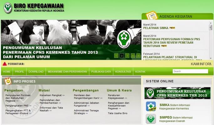 Tata Cara Persyaratan Pendaftaran Online CPNS 2014