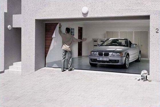 simply creative: garage doors artthomas sassenbach